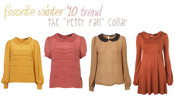 favorite A/W trend: peter pan collars