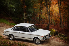 BMW 2002 (David Guimares) Tags: road new 2002 autumn orange white mountain green classic love portugal beautiful beauty car yellow speed vintage germany woods 60s warm colours alpina fast racing class m technic german bmw 70s neue m10 schnitzer klass rwd basto hartge celorico