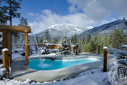 Scandinave Spa Whistler (NOT my photo)