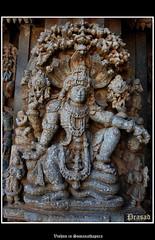 Vishnu in Somanathapura (Spiceroute) Tags: from heritage stone one soap day view dancing you photos or everyone survey archeological protected sitex cex 1268 indiax girlsx tripx templex southx architecturex stonex animalsx designsx carvingx musiciansx godsx hoysalax karnatakax mysorex puranasx channakeshavax archeologyx goddessesx gurusx elephantsx lionsx cowsx monkeysx pinnaclesx trikutax