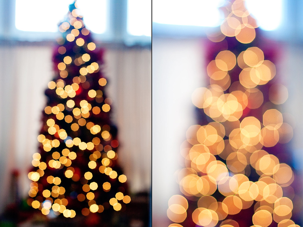 Christmas Tree Bokeh 2