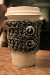Ravelry: Quick Crocheted Coffee Sleeve pattern by A Crafty