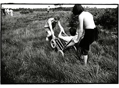 Map Reading, Red Cross Activity Holiday, Hindleap Warren, Sussex, Uk -07/91 (tobydeveson) Tags: shirtless england 35mm fun countryside blackwhite path naturallight help tired topless winniethepooh fullframe uncropped orientation eastsussex challenge enjoyment kodaktmax400 helping teamwork nikomat nikkormat helpers mapreading aonb scannedprint teenageboys longgrass aamilne ehshepard aiding christopherrobin britishredcross darkroomprint royalforest wheelchairaccess theweald southoflondon registeredcharity longshorts hindleapwarren thehundredacrewood poohstories redcrescentmovement thebritishredcrosssociety primefixed24mmlens activityholidayforchildrenwithdisabilities highwealdareaofoutstandingnaturalbeauty worldwideimpartialhumanitarianorganisation theinternationalredcross caringforpeopleincrisis obstaclesincountryside carryingwheelchairthroughfields