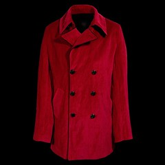 Red Peacoat Velvet