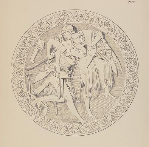 Etruskische Spiegel by Eduard Gerhard, 1840s d