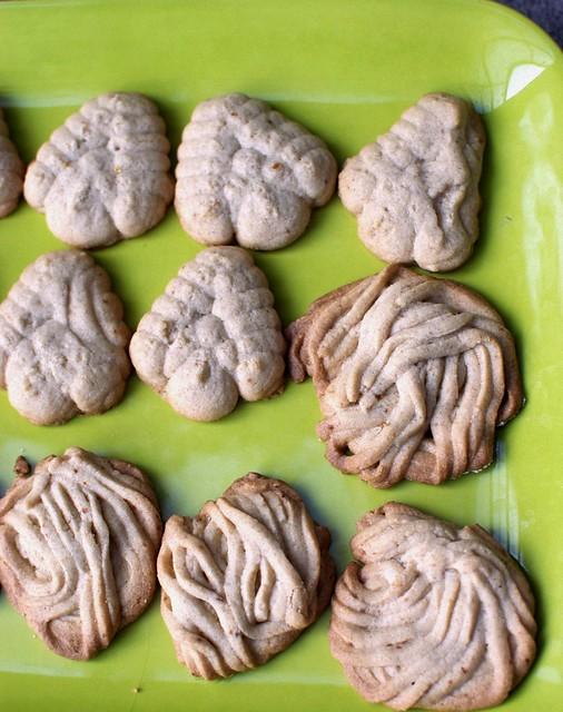 spritz cookies, gluten-free