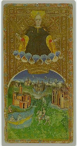 016-El mundo-Cary-Yale Visconti Tarot Deck