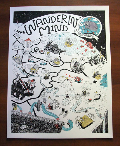 The Wanderin' Mind, Screenprinted!