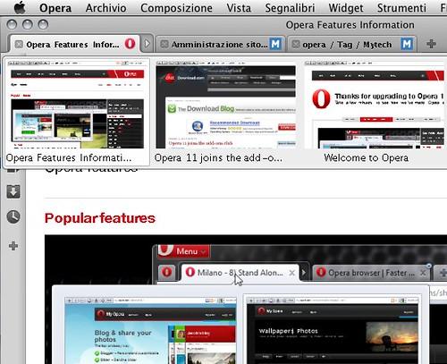 Opera 11 tab stacking anteprima (dettaglio)