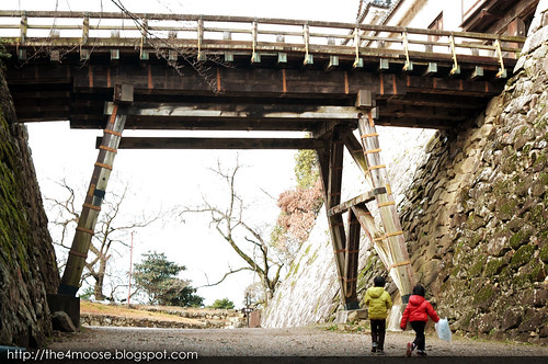 Hikone Castle 彦根城 - Rokabashi Bridge
