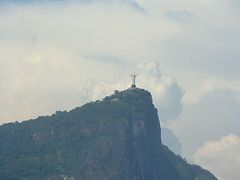 Corcovado mountain, with Christ the Redeemer on top