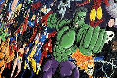 hulk n friends (amazingranda) Tags: dc flash ironman xmen wonderwoman batman comicbooks blade jlu thor marvel captainamerica hellboy wolverine daredevil justiceleague ghostrider fantastic4 theincrediblehulk deadpool thepunsher heroesdreams