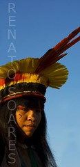 As Yamaricumã na aldeia Kalapalo (www.renatosoares.com.br) Tags: brasil xingu indios matogrosso aldeia antropologia etnias kalapalo parqueindigena