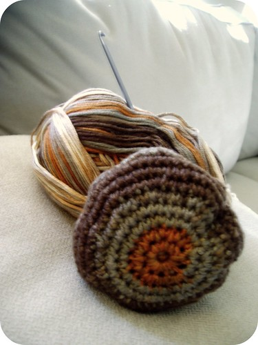 Crocheted Hacky Sack