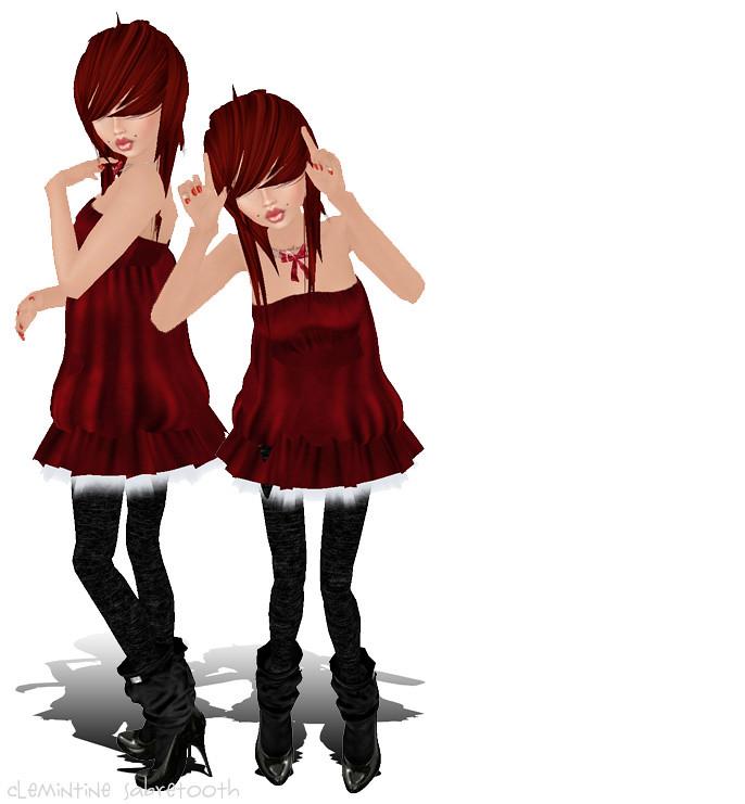112 Ruby Reindeer
