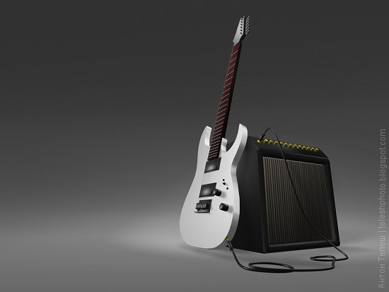 Ibanez Guitar blend Anton Telesh Blender фотограф Антон Телеш
