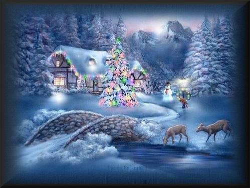 estampa navideña
