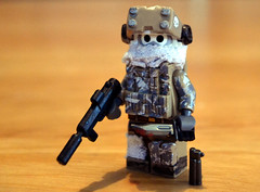 The Ranger (. soop) Tags: christmas mod paint ranger december lego mr knife trench hazel 25 ama vest decals visor the soop pdw brickarms