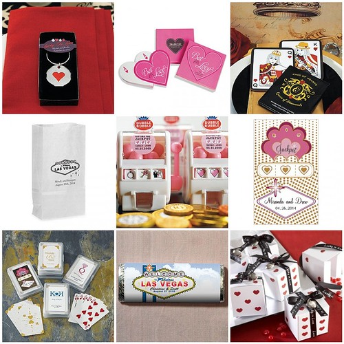 Las Vegas Wedding Gift Bag Ideas : Las Vegas Wedding Favors - Gambling on Love Things Festive Weddings ...