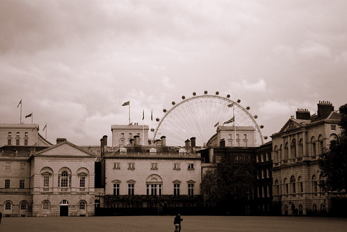 london eye and gallery