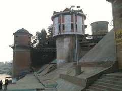 Pump it up! (linuskendall) Tags: travel urban india water infrastructure varanasi fecal coliform