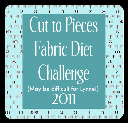 fabric diet challenge for Lynne