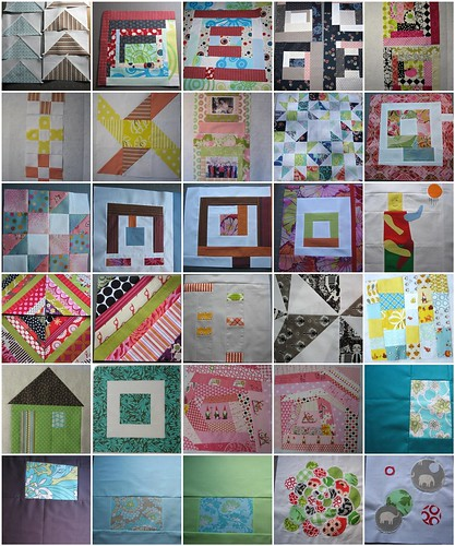 Bee blocks from 2010!