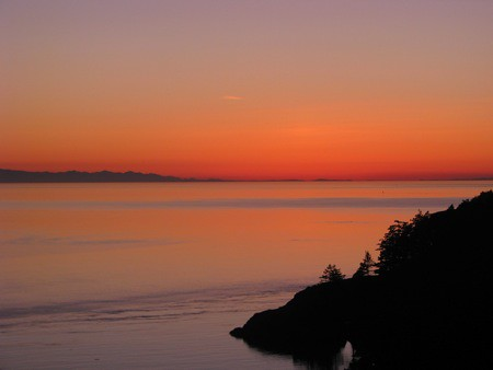 Sunset from Deception Pass