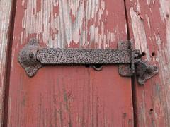 latched (birchloki) Tags: door wood ohio metal barn doors lock farm barns farmland doorway latch edon edonohio