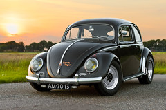 B's 1953 Zwitter (mcdronkz) Tags: brown window car vw vintage volkswagen beetle sugar split pinstripe bril kfer kever zwitter