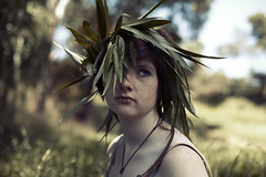 (Brendan_Timmons) Tags: portrait cute girl leaf warm pretty dragon queen willow 50mmf14 canon5dmkii