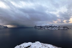 The Storm (©skarson) Tags: winter snow storm weather norway norge ålesund sula aalesund giske møreogromsdal hareid sukkertoppen godøya norwegiansea