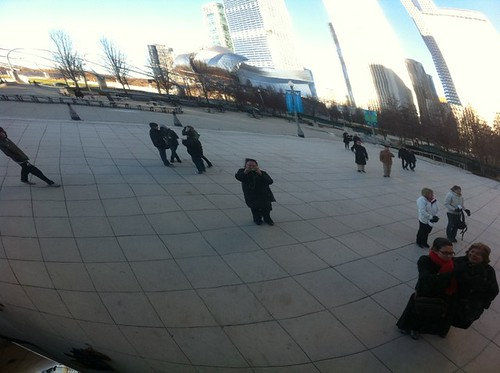 At Cloud Gate (The Bean)