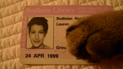 nineties lau's library card