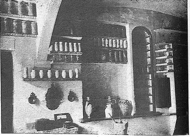 Botica del Hospital Tavera hacia 1928. Fotografía publicada en ese año en la Revista Toledo
