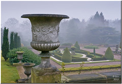 Tatton's Italian Garden (Maria-H) Tags: park uk winter england mist garden cheshire nt panasonic nationaltrust tatton italiangarden gh2 14140 abigfave dmcgh2