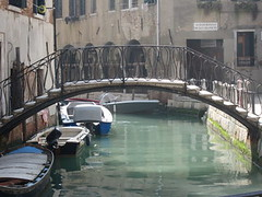venice small bridge