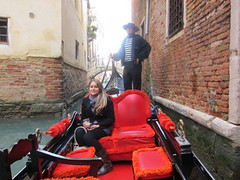 girl and guy in gondola