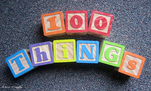 100 Things Sign