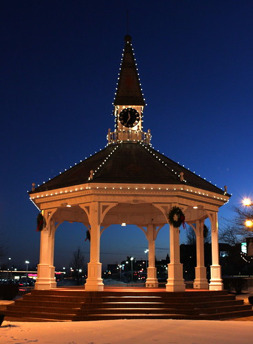 Gazebo at Twilight