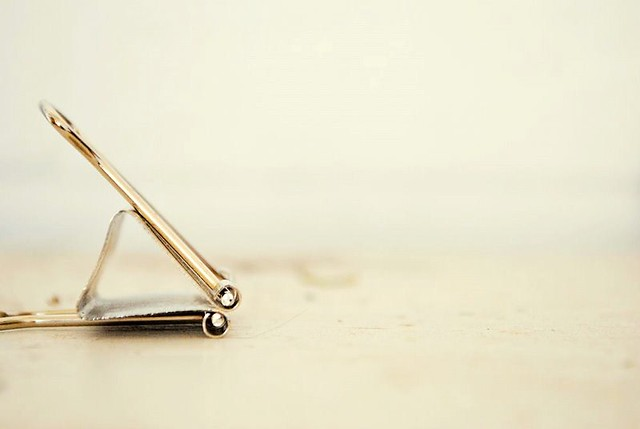 ordinary beauty: binder clip2