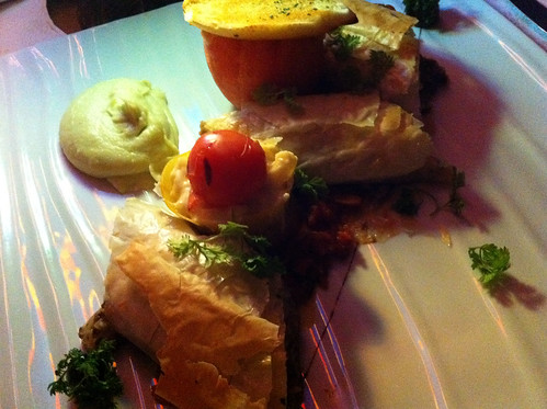 Nouveau Steakhouse - Mushroom Strudel, Wasabi Mash, and Stuff