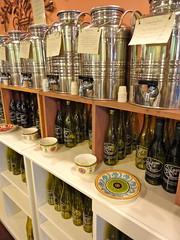 A Taste of Olive oil drums