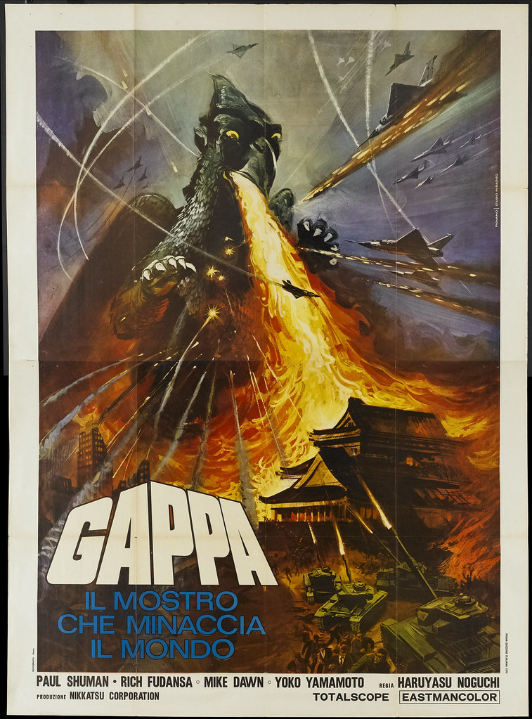 Gappa, The Triphibian Monsters (Nikkatsu, 1967). Italian