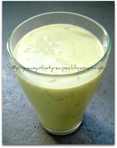 Sinh to bo (vietnamese avocado shake)