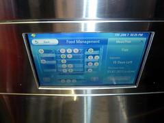 LG Smart Refrigerator - CES 2011 - Consumer Electronics Show - Las Vegas, NV