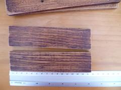 2 pedaços de 15 cm