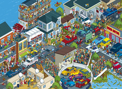 Top Gear - Where's Stig? Deep South Adventure by Rod Hunt - published by BBC Books (Rod Hunt Illustration) Tags: auto usa detail cars car illustration digital america fun book funny cityscape vectorart drawing illustrated digitalart alabama humor may drawings automotive humour adobe american nascar pixel pixelart editorial illustrator redneck drawn publishing hammond vector rednecks isometric detailed clarkson hick bookillustration deepsouth adobeillustrator whereswally topgear bbcamerica hicks whereswaldo cs4 jeremyclarkson richardhammond vectorillustration thestig southernstates jamesmay editorialillustration digitalartist contemporaryillustration pixelillustration isometricillustration professionalillustrator rodhunt bookillustrator bbcbooks vectorillustrator isometricdrawing digitalillustrator ukillustration editorialillustrator professionalillustration deepsouthadventure topgearusa topgeardeepsouth pixelillustrator
