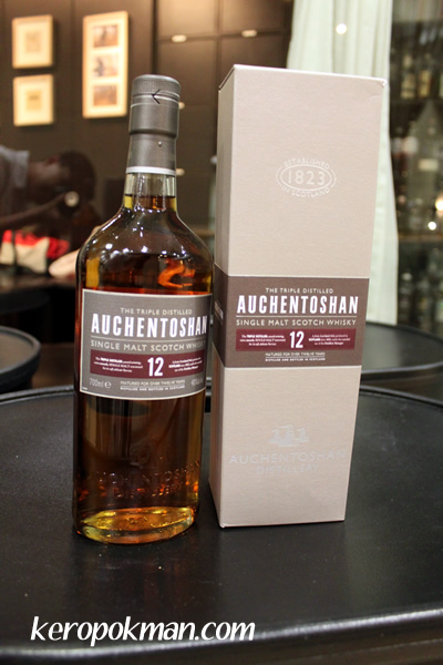 Auchentoshan Single Malt Scotch Whisky, 12 year old