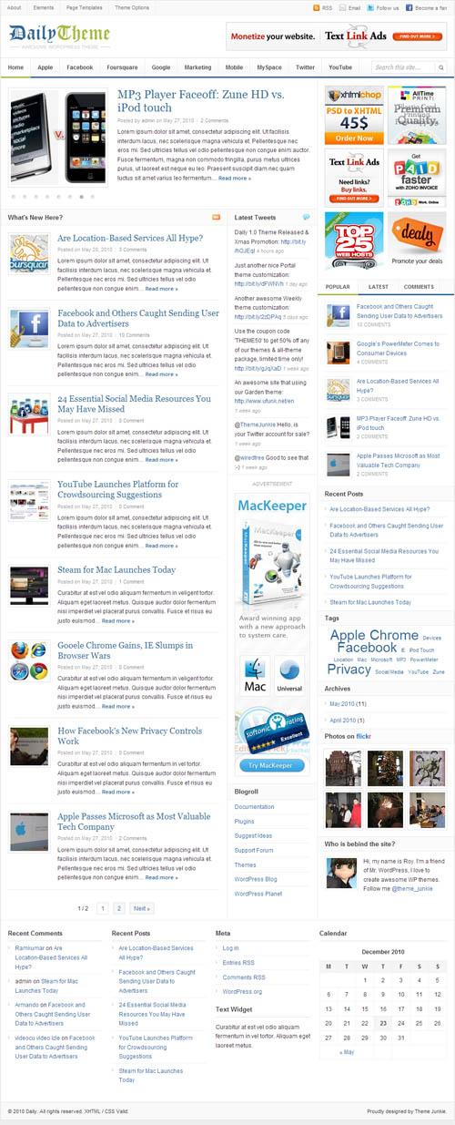 daily-wordpress-theme